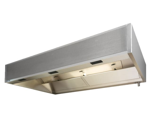 Halton UWI Cold Mist & Hot Wash Filter Hood with UL1046 classified filters and Capture Jet Technolog