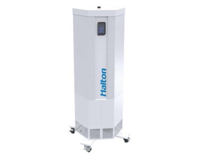 Halton Sentinel White Mobile Filtration Unit