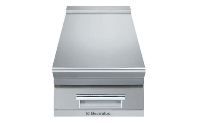 Electrolux 900 XP Series 400mm wide Stainless Steel Ambient Worktop with Drawer E9WTNDN00E