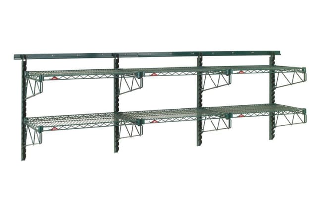 Metro 3 Tier Adjustable Wall Shelving