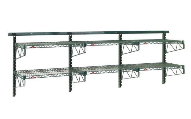 Metro 2 Tier Adjustable Wall Shelving