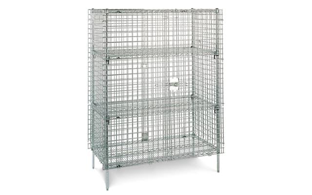 Metro Super Erecta Security Storage Cage