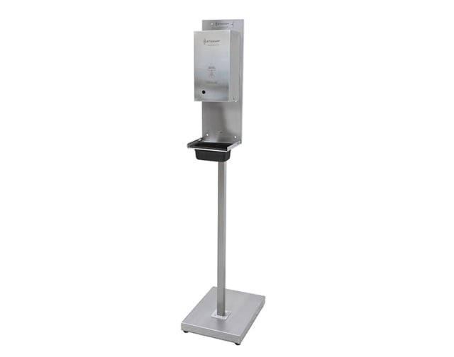 Automatic Hands Free Lockable Sanitiser Dispenser with Stand