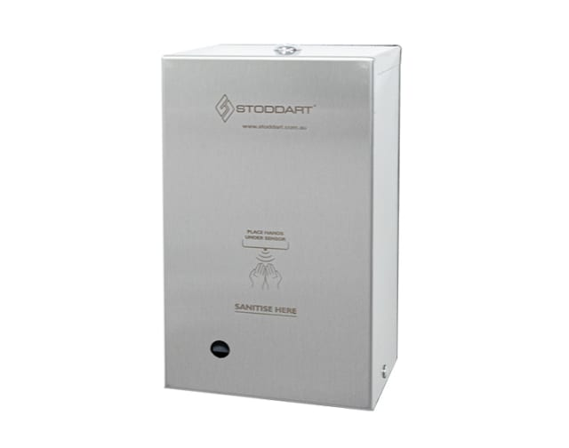 Automatic Hands Free Lockable Sanitiser Dispenser - Surface Mounted
