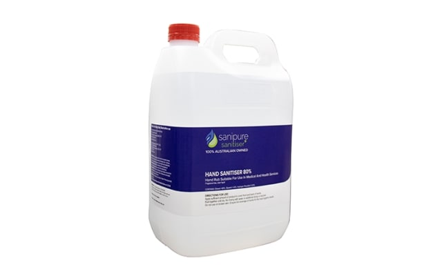 Sanipure Hand Sanitiser 5L Bulk Liquid HSL.SP05L