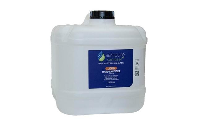 Sanipure Alcohol Free Hand Sanitiser 15L Bottle HSLX.SP15L