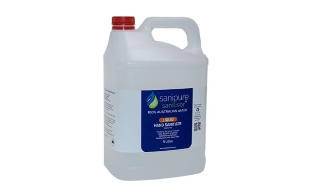 Sanipure Alcohol Free Hand Sanitiser 5L Bottle HSLX.SP05L