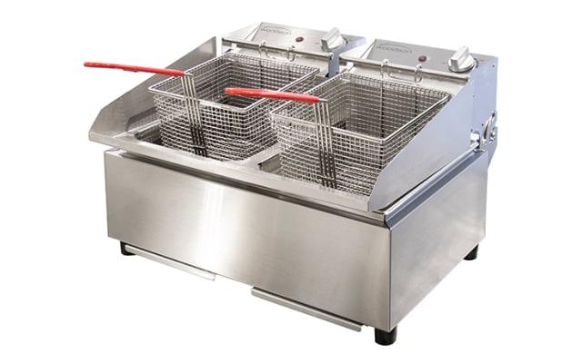 Woodson Twin Pan Countertop Fryer W.FRT