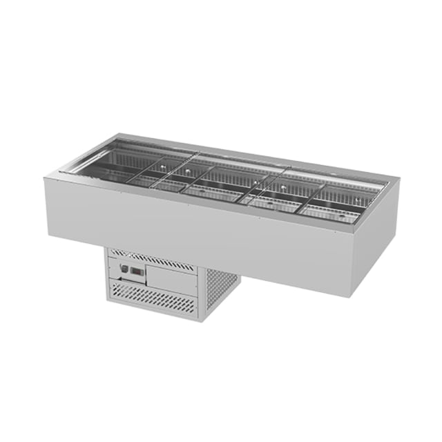 Woodson Flat Deck Self Serve Cold Food Display