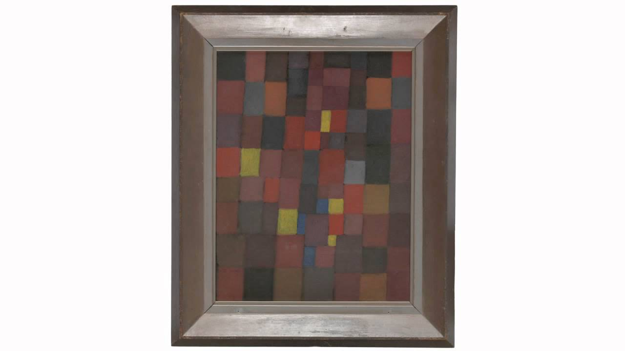 Pictorial Architecture Red, Yellow, Blue (Klee)