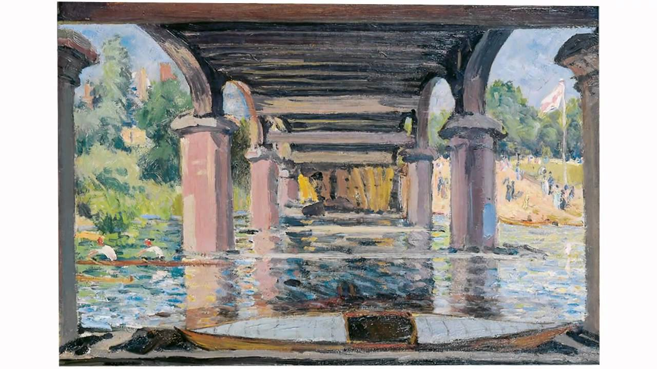 Under Hampton Court Bridge (Sisley)