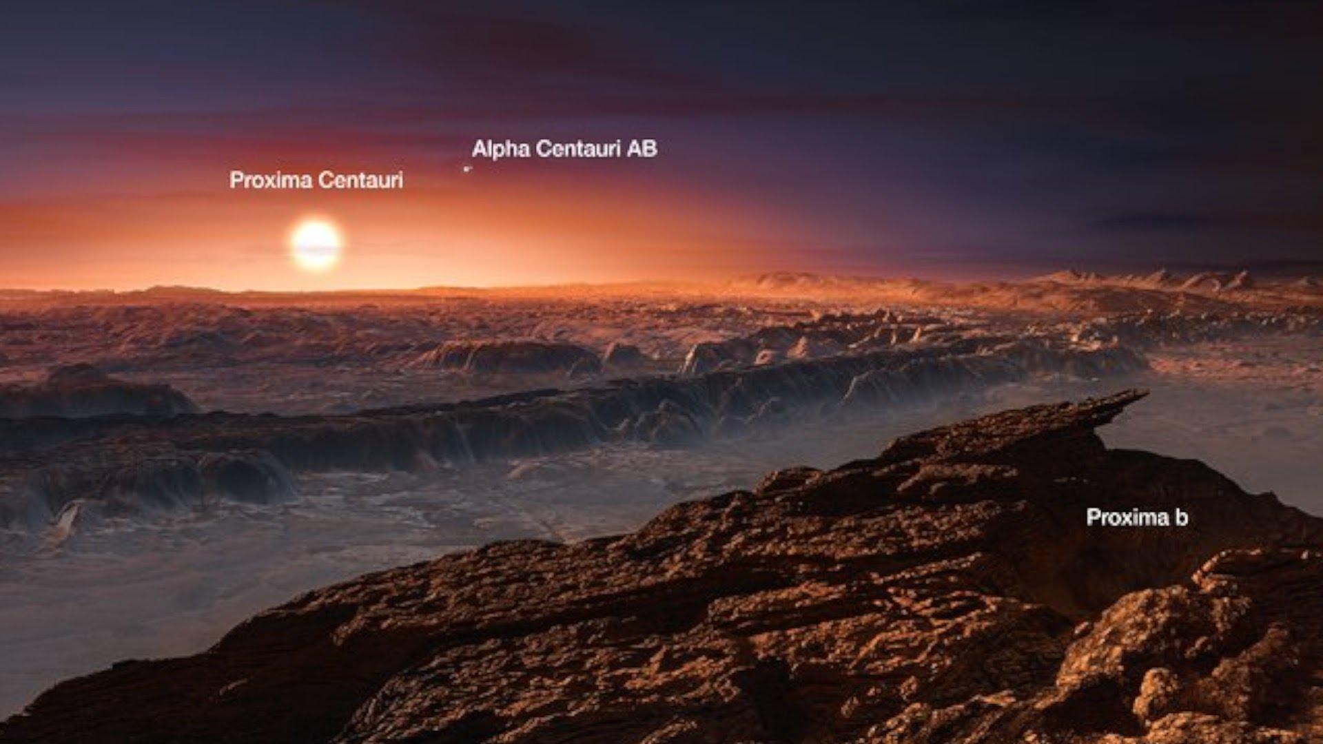 Proxima Centauri B - Liquid Ocean