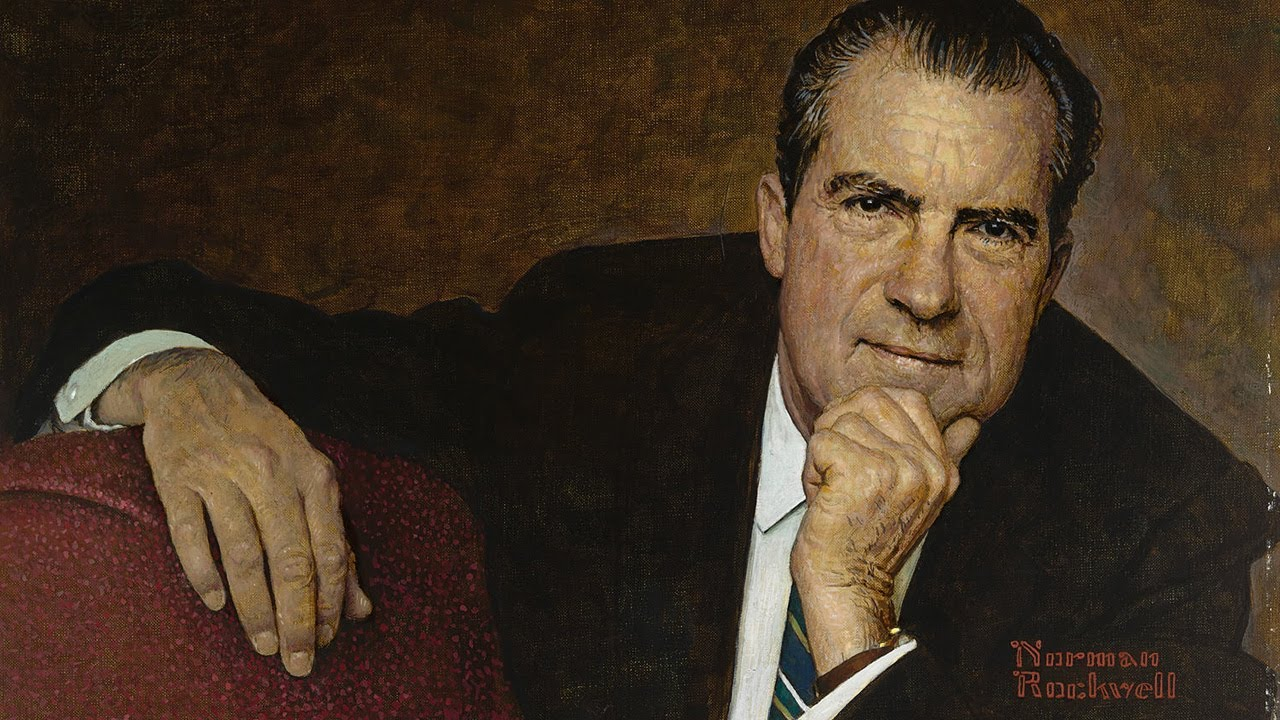 Richard Nixon Portrait (Norman Rockwell)