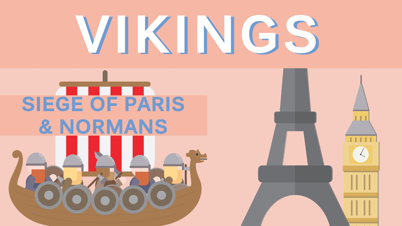 Viking Invasion of France - Timeline