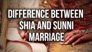 Islam - Sunni Shia Marriage Differences