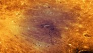 Mercury (Planet) - Caloris Basin Crater
