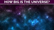 Universe - Size and Scale
