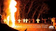 Ku Klux Klan - Burning Cross