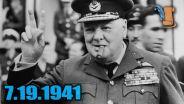 Winston Churchill - V for Victory