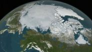 Earth - Model of Arctic Sea Ice