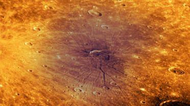 Mercury (Planet) - Caloris Basin Crater