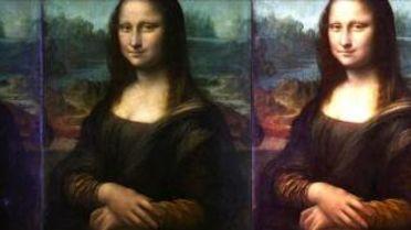 Mona Lisa (Da Vinci) - Layers