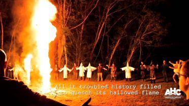Ku Klux Klan - Burning Cross