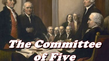 Committee of Five - Declaration of Independence