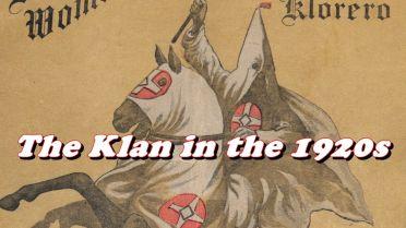 Ku Klux Klan - 1920s