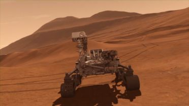 Mars - Newton Crater