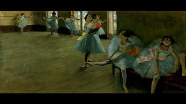 Dancers in the Classroom (Degas)