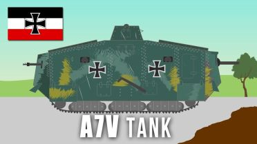 World War I - A7V (Tank)