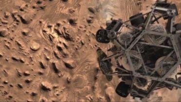 Curiosity (Rover) - Landing