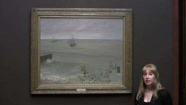Symphony in Grey and Green, The Ocean (Whistler)