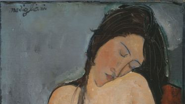 Female Nude (modigliani)
