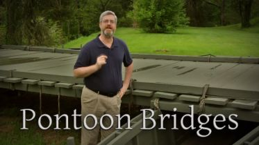 American Civil War - Pontoon Bridges