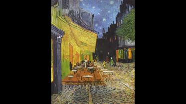 Cafe Terrace at Night (Van Gogh)