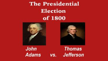 United States Presidential Election - 1800