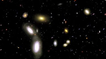 Hubble Space Telescope - Oldest View of Galaxies