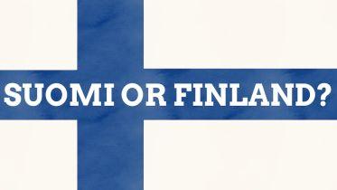 Finland - Etymology