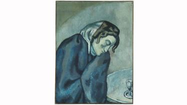 The Sleepy Drinker (Picasso)