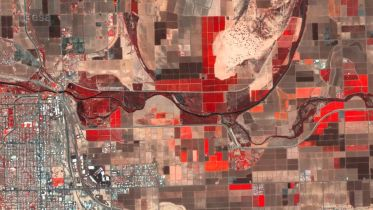 United States - Yuma from Space