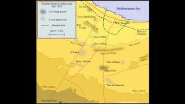 World War II - First Battle of El Alamein