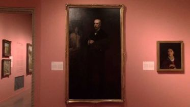 Portrait of James Carroll Beckwith (Eakins)