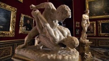 Wrestlers (Sculpture)