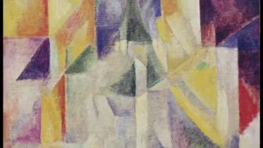 Simultaneous Contrasts: Sun and Moon (Delaunay)