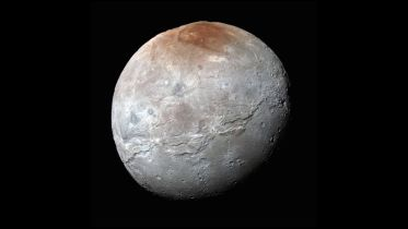 Charon (Moon) - Red Spot
