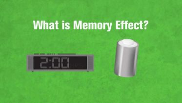 Battery - Rechargeable Battery Memory Effect