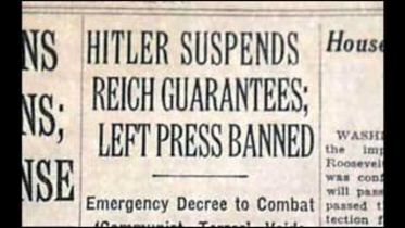 Nazi Germany - Reichstag Fire