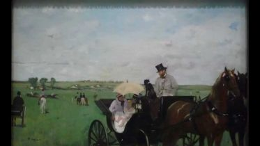 At the Races in the Countryside (Degas)